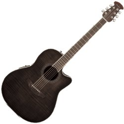 Ovation CS24P-TBBY  Celebrity Standard Plus A/E RH 6 String Guitar - Transparent Blackburst Flame