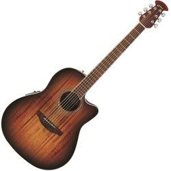 Ovation CS28P-KOAB  Celebrity Plus Super Shallow Acoustic Electric RH 6 String Guitar - Koa Burst