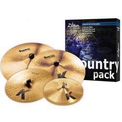 Zildjian K0801C Country Pack K Cymbal Set