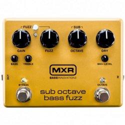 Dunlop M287 MXR Sub Octave Bass Fuzz Pedal