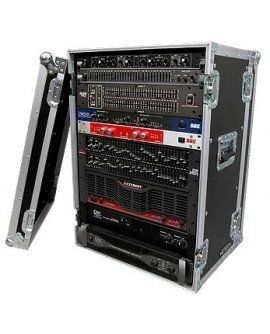 "Road Ready RR16UED 16U Deluxe Effect Rack Case – 14"" body depth"