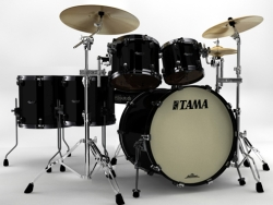 Tama BG42ZS-PBK Starclassic Bubinga Drum Shell kit Piano Black