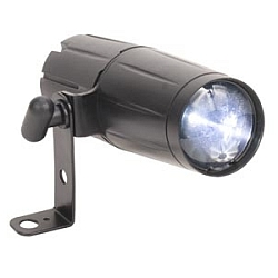 American DJ Pinspot LED 3w with 12Degree Beam Angle (used clearance item no box 8.9 condition))