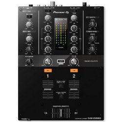 Pioneer DJ DJM-250MK2 rekordbox dvs-Ready 2-Channel Mixer with Built in Soundcard