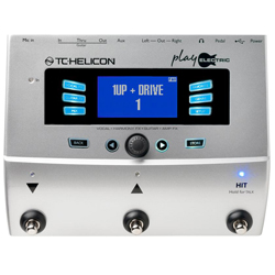 TC Helicon Play Electric Multi FX for Vocals and Guitar Effects
