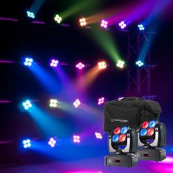 American DJ POCKET-WASH-PAK Two Inno Pocket Washes and Bag