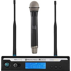 Electro Voice R300HDA Wireless Handheld Microphone System