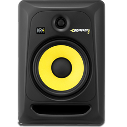 KRK RP8-G3 Powered Studio Monitor in Black with 8 Inch Woofer