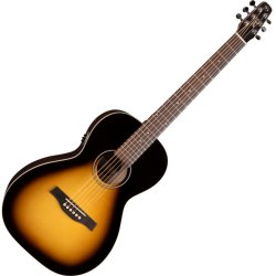 Seagull 039975 S6 Grand Sunburst GT QIT Acoustic Electric RH 6 String Guitar
