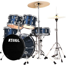 Tama SG50KH6-CDB STAGESTAR 5pc Drum Kit with Stagestar Cymbal Set in Dark Blue (discontinued clearance)
