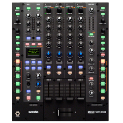 Rane DJ SIXTY FOUR Performance DJ Mixer Plug and Play 4 Deck Support with USB