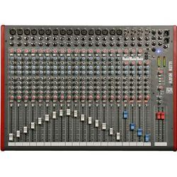 Allen & Heath ZED-24 16 Mono 4 Stereo channel Mixer with USB in out