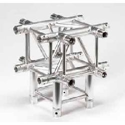 Global Truss SQ-4134 1.64ft. (0.5m) 5 Way T-Junction