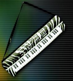 "Magic Light 24"" Inflatable Keyboard"