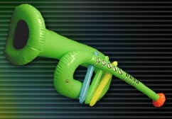 "Magic Light 28"" Inflatable Trumpet"