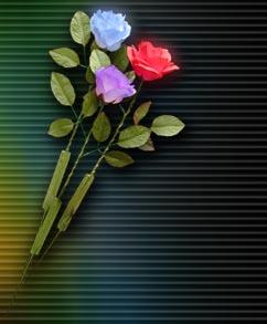 Magic Light Light up Rose