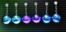 Magic Light Disco Ball Earrings (Pack of 12)