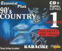 Chartbuster ESP453 Pack CBESP453 90's Country Karaoke Pack