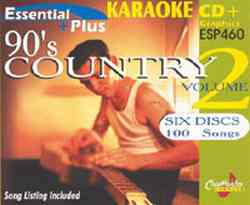 Chartbuster ESP460 Pack CBESP460 90's Country Vol 2 Karaoke Pack