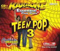Chartbuster ESP473 Pack CBESP473 Teen Pop 3 Karaoke Pack