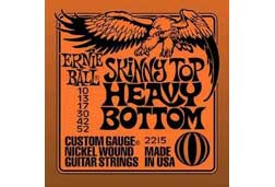 Ernie Ball 2215EB Skinny Top Heavy Bottom Electric Guitar Strings 10-52
