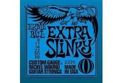 Ernie Ball 2225EB Extra Slinky Guitar Strings 8-38