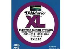 D'Addario EXL120 Super Light Electric Guitar Strings
