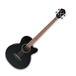 Ibanez AEB8E-BK AEB Series 4 String Acoustic Electric Bass Guitar (Discontinued Clearance)