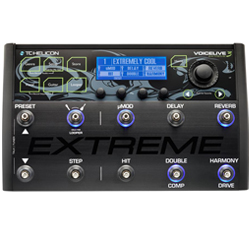 TC Helicon VoiceLive 3 Extreme Floor Based Vocal Processor, Guitar Effects, and Mic Preamp