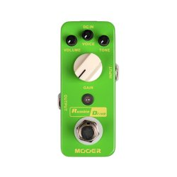 Mooer MOD2 Rumble Drive Double Sound Overdrive Pedal