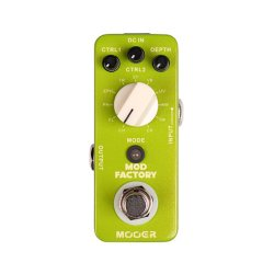Mooer MME1 Mod Factory 11 Modulation Effects Pedal