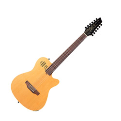 Godin 025343 A12 Natural SG Acoustic Electric 12 string guitar