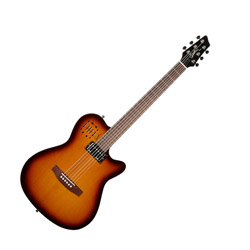 Godin 030286 A6 Ultra Cognac Burst HG 6 String Acoustic Electric Guitar