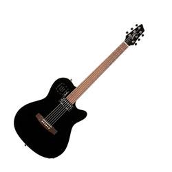 Godin 030309 A6 Ultra Black HG 6 String Acoustic Electric Guitar