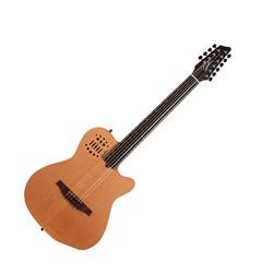 Godin 038169 A10 Natural Steel Mahogany Cedar SG Acoustic Electric 10 string guitar