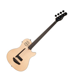Godin 033645 A4 Ultra Natural SG Fretless EN SA 4 String Bass