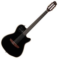 Godin 032174 ACS Nylon Black HG Acoustic Electric 6 string guitar with bag
