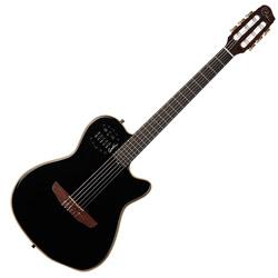 Godin 032181 ACS Slim Nylon Black HG Acoustic Electric 6 string guitar with bag