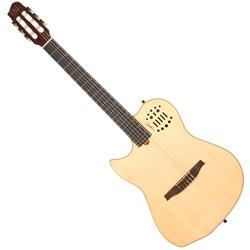 Godin 036073 MultiAc Nylon String Natural HG Acoustic Electric 6 string guitar LH with bag