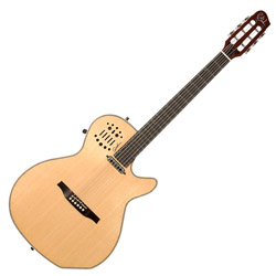 Godin 031238 Multiac Spectrum Natural HG 6 string Acoustic Electric Guitar with bag