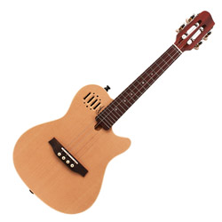 Godin 041367 Multiac Cavaquinho Steel 4 string Acoustic Electric Guitar