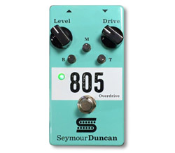 Seymour Duncan 11900-004 805 Overdrive Guitar Pedal