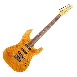Godin 031092 Passion RG3 Natural Flame RN 6 String Electric Guitar