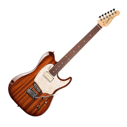 Godin 039661 Passion Custom Whisky Burst RN 6 String Electric Guitar