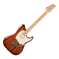 Godin 039678 Passion Custom Whisky Burst MN 6 String Electric Guitar