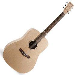 Simon and Patrick 038954 Trek Natural SG Dreadnought Acoustic 6 String Guitar