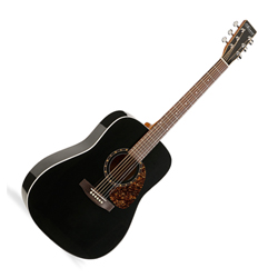 Norman 027484 Encore B20 Black HG Presys Acoustic Electric Guitar 6 String