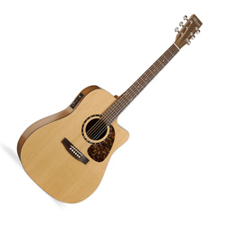 Norman 031351 Studio ST40 CW GT Acoustic Electric Guitar 6 String