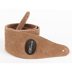 Norman 037360 Tan Western Suede w/ Patch Logo