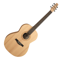 Seagull 039593 Excursion Natural Folk Solid Spruce Acoustic Guitar 6 String